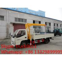 Wholesale factory sale best price dongfeng  4*2 LHD mini truck with crane, Dongfeng 2.5tons cargo truck mounted on crane for sale from china suppliers