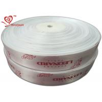 Quality Silk Screen Decorative personalized favor ribbons 25mm For Perfume for sale