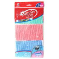Wholesale Reusable 1/4 Folded Spunlace Nonwoven Kitchen Towel High Strength from china suppliers