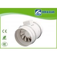 Wholesale HVAC 250mm Metal Shell Inline Vent Fan For Kitchen / Hospital 220V from china suppliers
