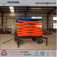 Wholesale High Quality 6m-10m Indoor Hydraulic Manual Scissor Lift from china suppliers