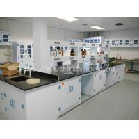Wholesale PP Lab Island Bench / Floor Mounted PP Lab Table / Ploypropylene Lab Worktable from china suppliers
