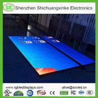 Wholesale High Resolution LED DJ Dance Floor Display With Meanwell Power Supply , 15625 Nits Density from china suppliers