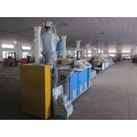 Buy cheap Single Screw SJ - 65 PP strapping band line /PP strap making machine line from wholesalers