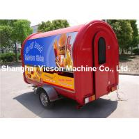 Wholesale 220v Red Fiber Glass Food Catering Van With Insulation Foam from china suppliers