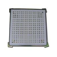 Buy cheap Grid shaped Raised Floor Perforated Tiles Ventilation rate 45% 600 * 600 * 30mm from wholesalers