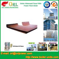 Wholesale Gas Steam Boiler Water Wall Panels , Boiler Water Tube Boiler Equipment from china suppliers