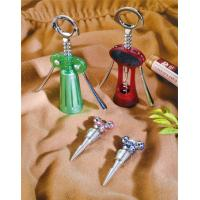 China Fashion Corkscrews & wine bottle openers keychains with multi-functions for Souvenir gifts on sale