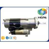 Quality M3T56174 M3T56183 Excavator Starter Motor 5.5KW With Metal Material , Silver Color for sale