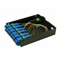 Wholesale Pre Terminated MPO Patch Panel , MPO Casette Rack Mount Patch Panel from china suppliers