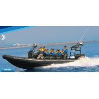 Wholesale 32 Feet Inflatable Rib Boat Large Passenger Ship For Army Patrolling / Rescuing from china suppliers