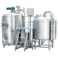 Wholesale 10 Bbl Brewhouse 1000L Beer Brew Kettle with Fermenter from china suppliers
