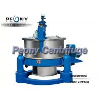 Wholesale Horizontal Basket Centrifuge Pump / High Efficiency Separator / Scraper Bottom Discharge Centrifuge from china suppliers