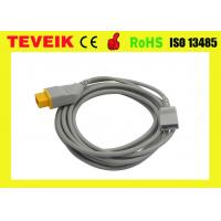 Wholesale Nihon Kohden Blood Pressure IBP Adapter Cable,14pin to Merit adapter from china suppliers