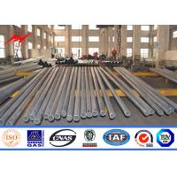 Wholesale 132KV Q345 Material 4mm Electric Power Pole 3 Sections with Climbing Rung from china suppliers