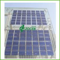 Wholesale Roof Mounted Transparent PV Double Glass Solar Panel On - Grid Utility Solar Systems from china suppliers