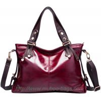 Wholesale High Quality Red Leather Handbags for lady (MH-6027) from china suppliers