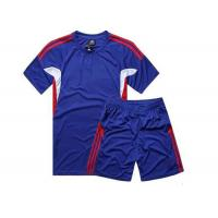 Wholesale Custom Blank Soccer Jerseys Team Logo Male , Blank Football Shirts from china suppliers