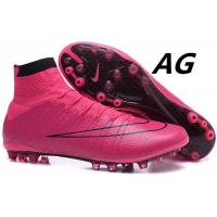 Wholesale IV AG Superfly Soccer Shoes Hyper Pink Mens Football Cleats Nike Mercurial Vapor from china suppliers