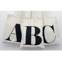 Wholesale Customized Handled canvas tote bags , natural Color recycled womens tote bags from china suppliers