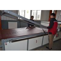 Buy cheap DK2400S Semi-auto double side pvc veneer compressing machine for doors cabinets skin from wholesalers