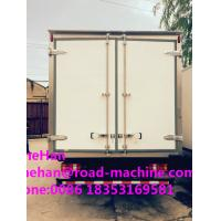 China Euro 2 Heavy Cargo Trucks , 5 Ton Refrigerated Truck For Frozen Foods Transporting on sale