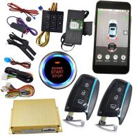 Quality Mobile Phone APP 3G Smartphone Remote Start System Smart Car Alarm for sale