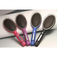 Wholesale Rubber Magic Massage Comb ,Shock comb,Using the battery from china suppliers