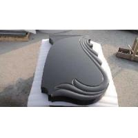 Wholesale Shanxi Black Granite Tombstone for Memorial (DX-G) from china suppliers
