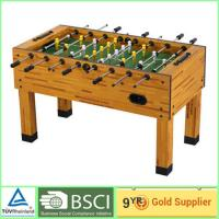China Commercial Foosball Table entertainment 9mm MDF and white plastic triangle on sale