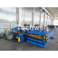 Wholesale Automatic PLC Controlled Tile Roll Forming Machine For Steel Metal Glazed Tile from china suppliers
