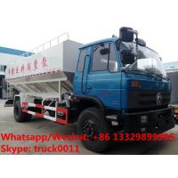 Wholesale large capacity-20-22m3 electronic discharging bulk feed delivery truck for sale, 10tons animal feed pellet truck from china suppliers