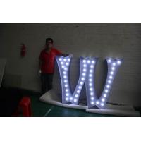 Wholesale Waterproof Alphabet LED Letter Lights , Metal Light Letters For Standing / Hanging from china suppliers