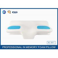 Wholesale Unique Gel Memory Foam Wedge Pillow , 25.6X14.17X5.51 Inch Cooling Gel Bed Pillow from china suppliers