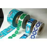 Wholesale Colorful Laminated Cookie Plastic Film Rolls , High Barrier Foil Film Rolls from china suppliers