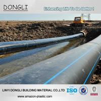Quality Factory Price ISO4427 large diameter 800mm HDPE pipe for water supply project for sale