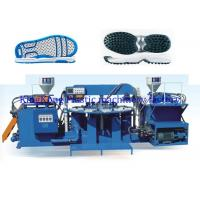 Wholesale TPR OutSole / Sport Shoe Sole PVC Air Blowing Injection Machine Two Colors from china suppliers