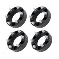 "50mm Black Billet Wheel Spacers 6x5.5 for Chevy Silverado 1500 Tahoe Suburban, 2.0"" black wheel spacer"