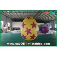 Wholesale Decoration Colorful Inflatable Egg Easter Festival Decoration with Print from china suppliers