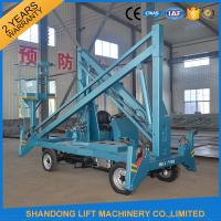 Wholesale Hydraulic Mobile Articulated Trailer Mounted Boom Lift with Battery / Diesel Power Source from china suppliers