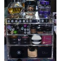 Wholesale Arcylic PMMA wholesale acrylic makeup organizer with drawers from china suppliers