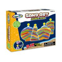Colorful Glitter Sand Arts And Crafts Toys For Kids Age 5 W / 4 Bottles