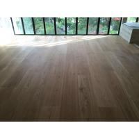 Wholesale High quality 300mm wide White Oak Engineered Flooring for Singapore Villa Projects from china suppliers