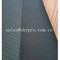 Ultra Thin Neoprene Fabric Roll Perforated Nylon Fabric With Polyester Neoprene