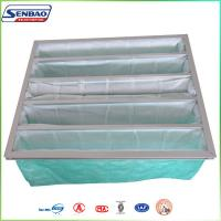 Wholesale Clean Room Air System Bag Air Filters with Non woven Synthetic Fiber Green Color from china suppliers