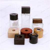 Wholesale Wooden Scraw Cap, Wooden lid for diffuser bottle from china suppliers