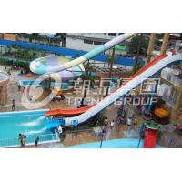 Wholesale Colorful High Speed Adult Water Slide with Water Amusement Park Construction for Water Park from china suppliers