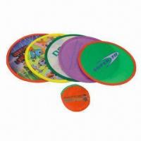 Wholesale Promotional pet frisbee, various types and printings are available from china suppliers