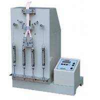 Wholesale 75mm LCD Suitcase Tester , 1/4HP Electric Zipper Pull Reciprocating Fatigue Test Machine from china suppliers