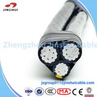 Wholesale Overhead Line Fittings Service Drop Wire XLPE Insulated Cable Quadruplex Chola from china suppliers